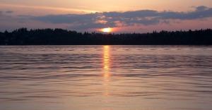 Sunset over Lake Washington