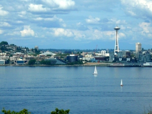 Queen Anne from West Seattle