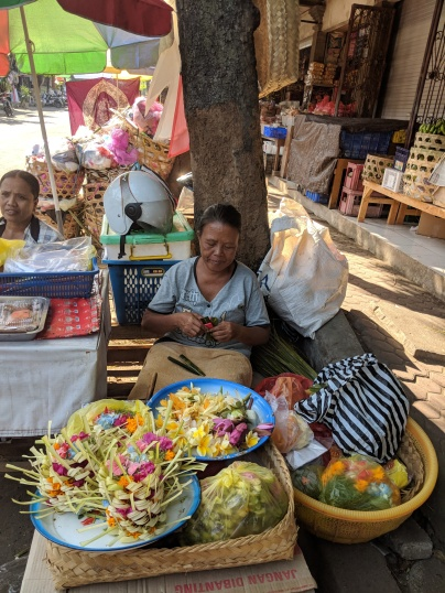 market stall - offerings