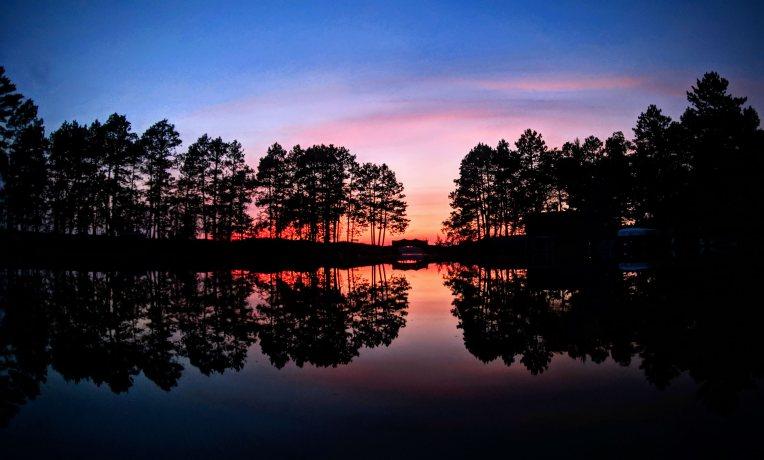 Sunset in Minnesota by Ben Reierson