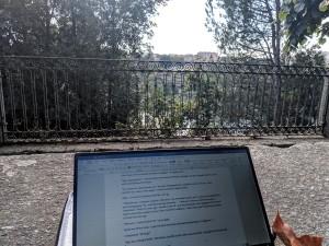 In the park in Porto