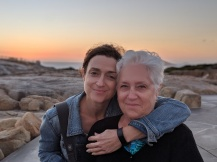 With my mum (WA)